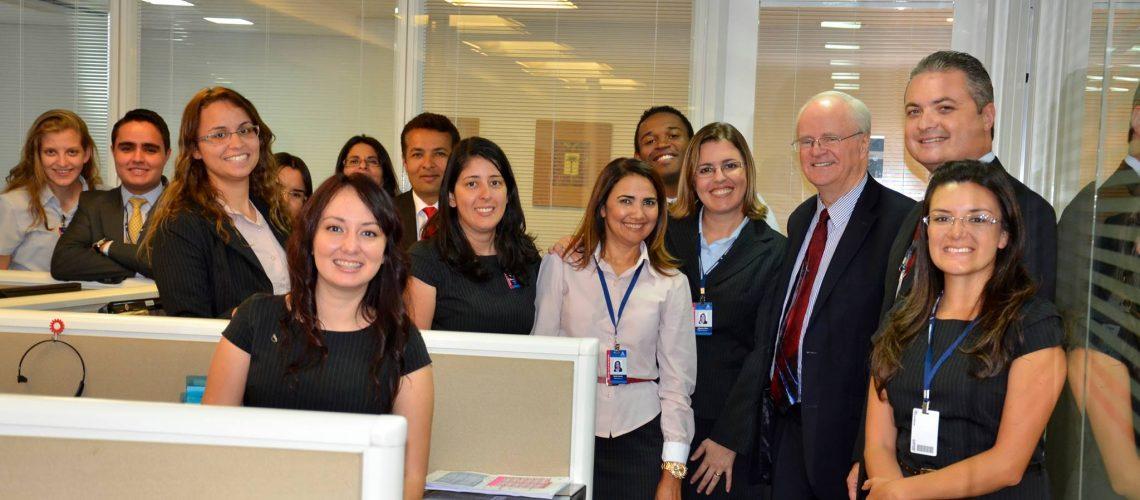Lowell Cooper visita o escritório da ARM Sul-Americana e destaca o profissionalismo