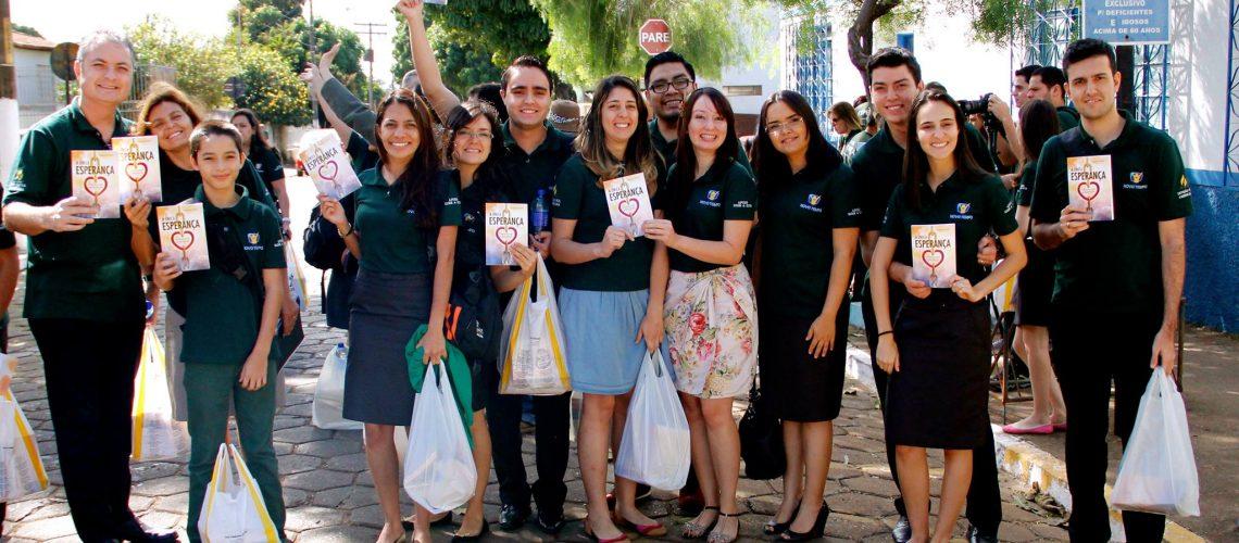 ARM Sul-Americana leva Esperança à Cristalina