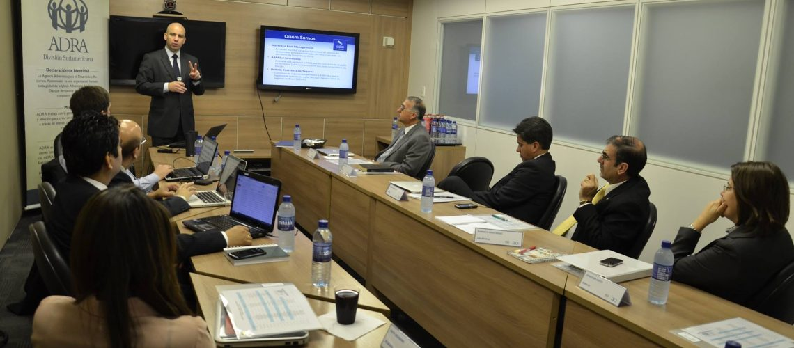 ARM Sul-Americana apresenta soluções de seguro para a ADRA