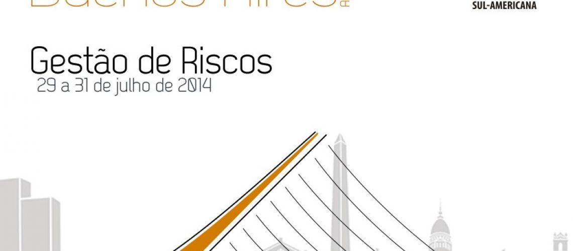 Falta um mês para o II Congresso Sul-Americano sobre Gestão de Riscos