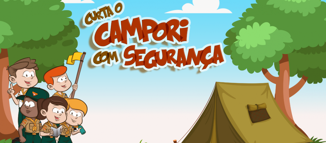 Curta o Campori com Segurança